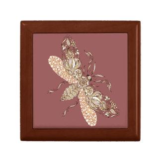 Wasp Small Square Gift Box