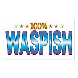 Waspish Star Tag v2 Pack Of Standard Business Cards