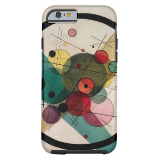 Wassily Kandinsky Abstract Circles Tough iPhone 6 Case