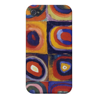 Wassily Kandinsky Blue Rider Covers For iPhone 4
