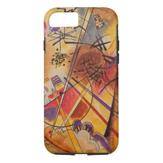 Wassily Kandinsky Brown Yellow Red Blue iPhone 7 Case