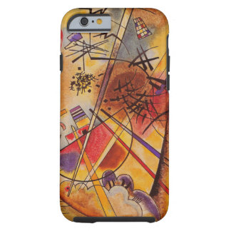 Wassily Kandinsky Brown Yellow Red Blue Tough iPhone 6 Case