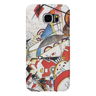 Wassily Kandinsky-Bustling Aquarelle Samsung Galaxy S6 Cases