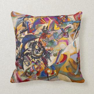 Wassily Kandinsky - Composition 7 Abstract Art Cushion