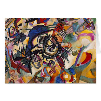 Wassily Kandinsky - Composition 7 Abstract Art Greeting Card