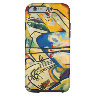 Wassily Kandinsky Composition IV Yellow Blue Tough iPhone 6 Case