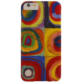 Wassily Kandinsky-Farbstudie Quadrate Barely There iPhone 6 Plus Case