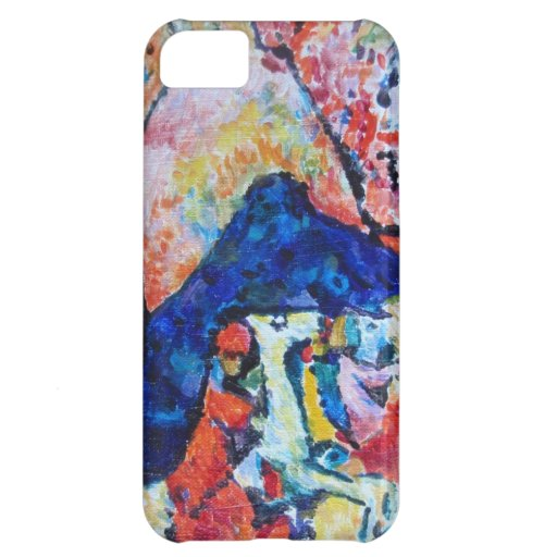 Wassily Kandinsky horse rider blue mountains Cover For iPhone 5C