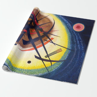 Wassily Kandinsky In the Bright Oval Wrapping Paper