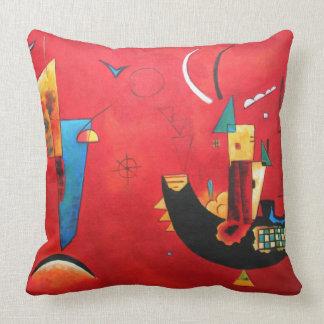 Wassily Kandinsky-Mit und Gegen Cushion