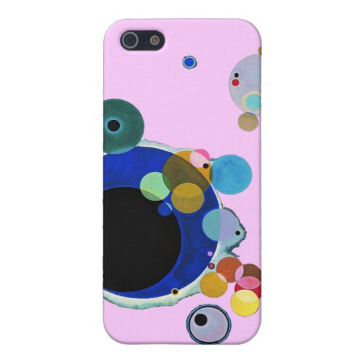 Wassily Kandinsky, Several Circles Case For iPhone 5
