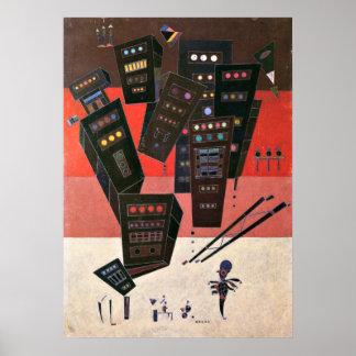 Wassily Kandinsky - Shadows Poster
