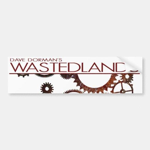 Wasted Lands Bumper Sticker