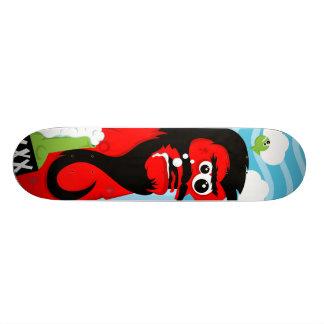 Wasted Pirate Custom Skateboard
