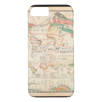 Wasted World Map 29 iPhone 7 Case