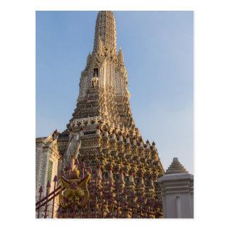 Wat Arun temple in Bangkok Thailand Postcard