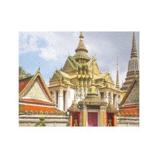 Wat Pho, Bangkok, Thailand Canvas Print