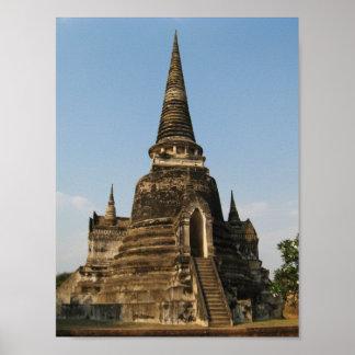 Wat Phra Si Sanphet ... Ayutthaya, Thailand Poster