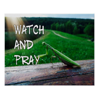 Watch and Pray Poster