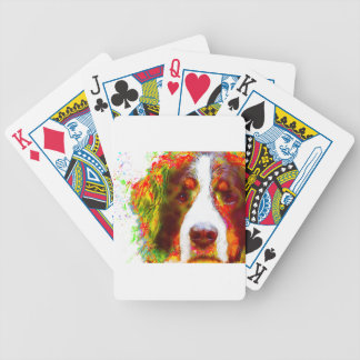 """""""WATCH""""-Bernese Mountain Dog Bicycle Playing Cards"""