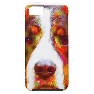 """WATCH""-Bernese Mountain Dog iPhone 5 Case"