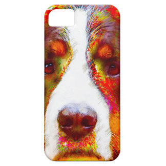 """WATCH""-Bernese Mountain Dog iPhone 5 Cover"