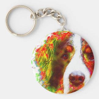 """""""WATCH""""-Bernese Mountain Dog Key Ring"""
