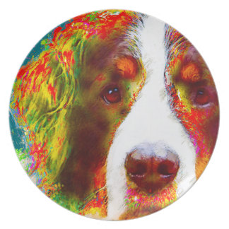 """WATCH""-Bernese Mountain Dog Plate"