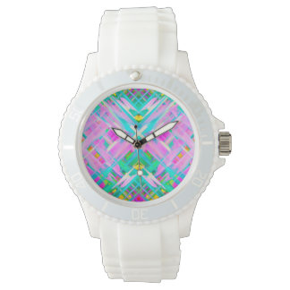 Watch Colorful digital art splashing G473