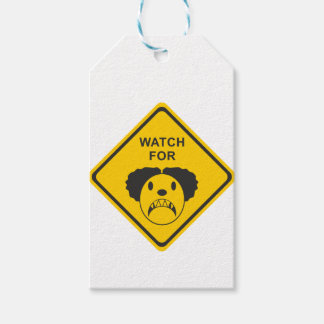 Watch For Clown Gift Tags