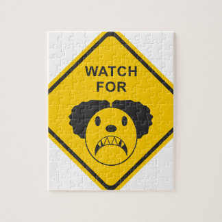 Watch For Clown Jigsaw Puzzle