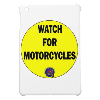 Watch for Motorcycles BLING Cover For The iPad Mini