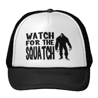 Watch for the SQUATCH! Cap