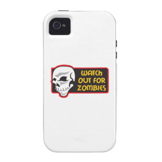 WATCH FOR ZOMBIES VIBE iPhone 4 CASE