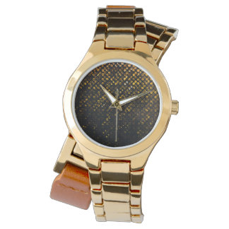 Watch Gold Crystal Bling Strass