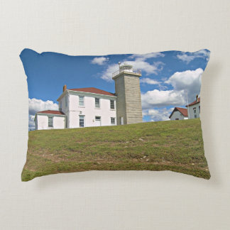 Watch Hill Lighthouse, Rhode Island Accent Pillow