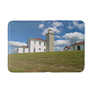Watch Hill Lighthouse, Rhode Island Bath Mat