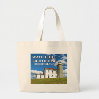 Watch Hill Lighthouse, Rhode Island Tote Bag