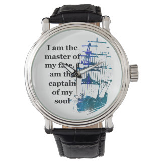 Watch I am the master of my fate