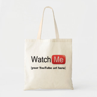 Watch Me on YouTube (Basic) Tote Bag
