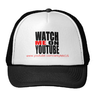 Watch Me on YouTube (Modern) Cap