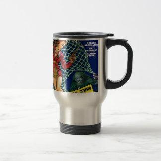 Watch out!  A net! Travel Mug