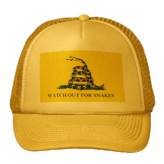 Watch Out For Snakes hat