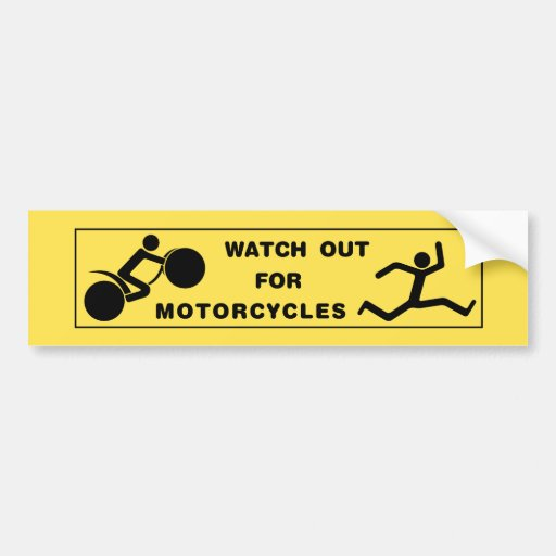 Watch out, Man! Bumper Stickers