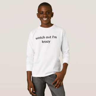 watch out tshirt