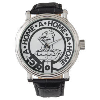 Watch with bold Home Crest
