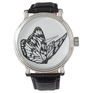 watch with butterfly