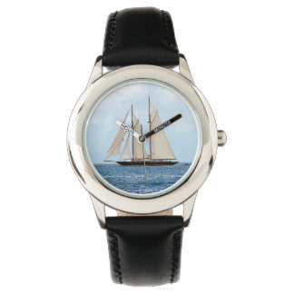 Watch with Sailboat in Britich Virgin Islands