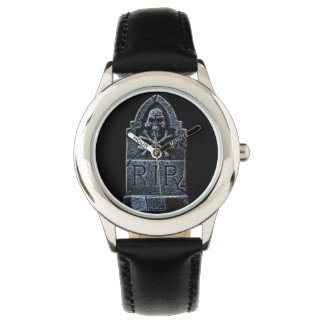 Watch with tombstone
