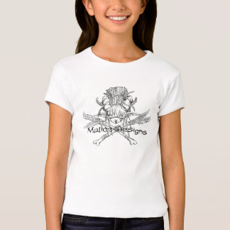 """""""Watch your back"""" Malice Designs Kid's Shirt"""